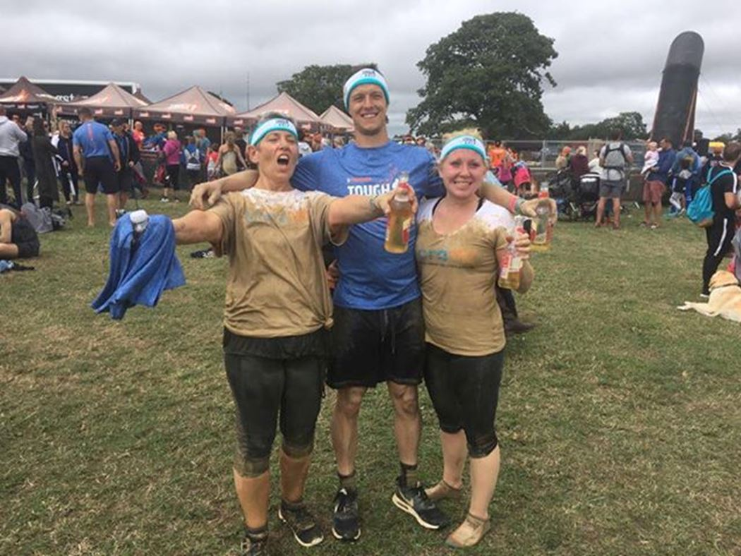 Lisa Ant Ella Wilks Tough Mudder